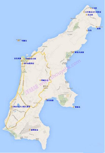 塞班岛有哪些著名景点