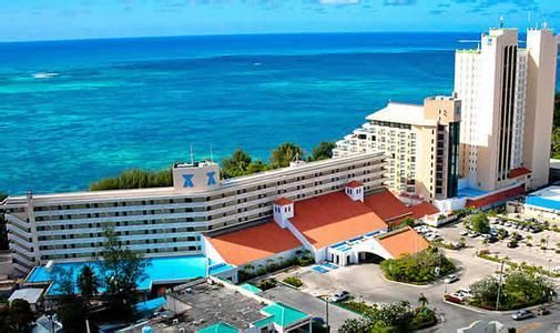 塞班岛待产酒店公寓俯视图